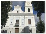 Žemaičių Kalvarijos bažnyčia, išorė ir vidus.
