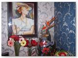 """Žydruolės portretas - dovana """"Diemedžio"""" 15-mečio proga."""