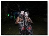 Neringa ir Aurelijus Helovyno šventėje (kostiumai ir makiažas - Neringos rankų darbas).