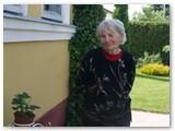 Pavyzdinės sodybos šeimininkė Marija Nuskiūnaitė.