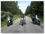 Kauno lakūnai-baikeriai motociklais keliauja po Europą.