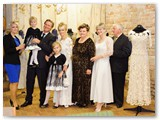 Ritos šeima Zyplių dvare jubiliejinėje Ritos parodoje.