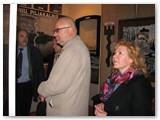 Kraštotyros muziejuje pirmame plane - V.A.Krauklis ir Marika Post.