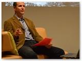 Tauras Endriukaitis Kidulių dvare dalinosi savo sėkmės istorija.(Autorės nuotrauka)