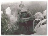 1990 m. Kaukazo kalnuose.
