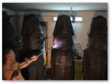 2014 m. garsiųjų skulptūrų gamybos prosesas.