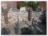 Sauliaus Lisausko kurtoje sodyboje. Autorės nuotrauka.