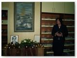 Sauliaus Lisausko mirties dešimtųjų metinių minėjimas Kalvarijos viešojoje bibliotekoje. Autorės nuotrauka.