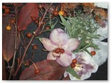 Floristikos paveikslai - kambario puošmena. Autorės nuotrauka.