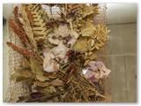 Floristikos paveikslai - kambario puošmena. Irenos Tamulynienės nuotrauka.