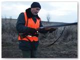 Medžiotojas Petras Šapalas.