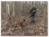 Medžiotojas Gedvydas Pėtelis tykoja.