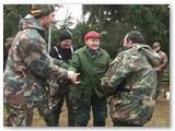 Taip pagerbiamas medžiotojas veteranas Vytautas Dambrauskas.
