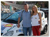 Vilius su dukra Indre - automobilių sporto fanatike.