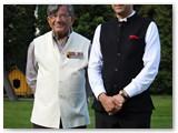 Su Indijos ambasadoriumi Lietuvai Ajay Bisaria.