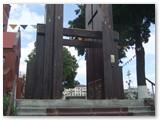 Nagasakio varpinės tiksli kopija Minske.
