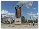 Minsko bibliotekos aplinka.