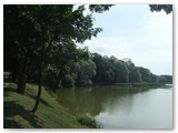 Nesvyžiaus pilies parkas.