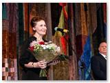 Kalba apdovanojimą atsiėmusi R. Raslanaitė.
