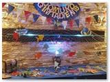 Nijolės Skroblienės rankdarbiai stebina įvairumu, fantazija ir kruopštumu. Gimtadienio šventės dekoras jūros tema.