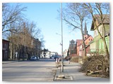 Darbai Vytauto gatvėje.