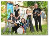 """Su grupe """"George Mo & Teens in Blues""""."""