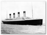 """""""Titanikas"""" plaukia. To meto nuotrauka."""