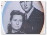 Veronika ir Jonas Ambrasai jaunystėje. Asmeninio albumo nuotrauka.