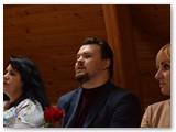 Socialinių projekto partnerių atstova:i( iš kairės) Loreta Dranžilauskienė, Martynas Andriukevičius, Raminta Liubelionienė. (autorius V.Baladinskas).