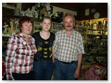 Birutė ir Algirdas Pudinskai su dukra Egle..