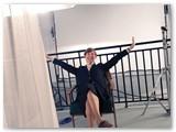 """""""Stebuklo"""" filmavimas. Nuotr. aut. Lora Musheva."""