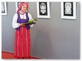 Parodos pristatymas Marijampolės kultūros centre.