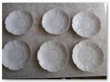 Relikvija - Dembovskio porcelianinių lėkštelių komplektas.