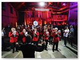 Ypatingas svečias performanse Marijampolės pučiamųjų orkestras.