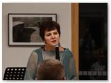 """A. Murauskienės """"Rudens akvarelės"""" pristatymas Marijampolėje."""