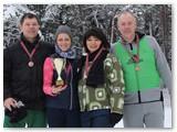 Kačerginiečiai su bronzos medaliais.