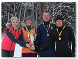 Marijampolės komanda iškovojo pirmąją vietą.