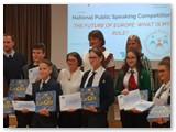 Kamilė Lapinskaitė ir kiti prizininkai