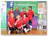 Trečios vietos laimėtojos Kybartų ''Kindermočiutės''