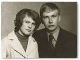 Gražina ir Vytautas Prūsaičiai savo draugystės pradžioje.