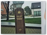 P. Klimo paminklas Kalvarijoje.