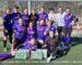 Marijampolėje Velykas moterys pasitiko  futbolo aikštelėje