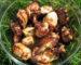Minkščiausias vištienos šašlykas, marinuotas su svogūnais ir majonezu