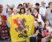 """""""Baltijos kelio sąšaukoje"""" – gausi marijampoliečių delegacija: trisdešimt metų gyva tradicija"""